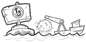 DSL Vessels are targeting Marine Protected areas illustration